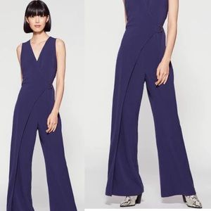 VINCE CAMUTO BELTED WRAP JUMPSUIT Size 8